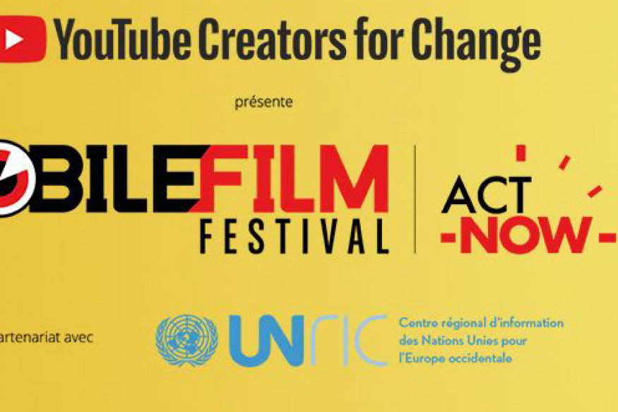 MOBILE FILM FESTIVAL, ACT NOW On Climate change : 1 MOBILE , 1 MINUTE , 1 FILM